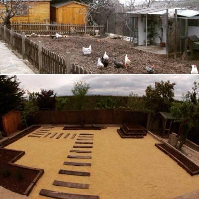 jardin de bajo mantenimiento