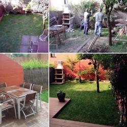 reforma de jardín