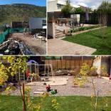 Proyecto de jardín particular en Santiago de Chile. Año 2012-2013.