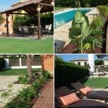 Proyecto de paisajismo en jardín particular de Sevilla. Año 2013.
