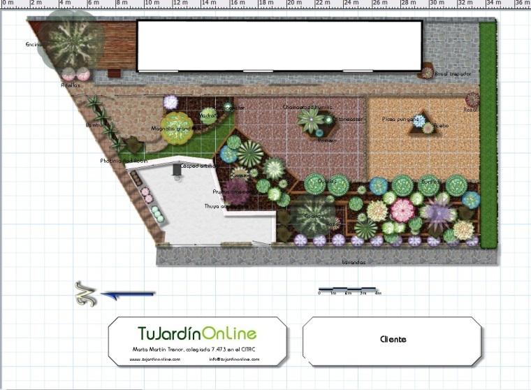 proyecto de jardin