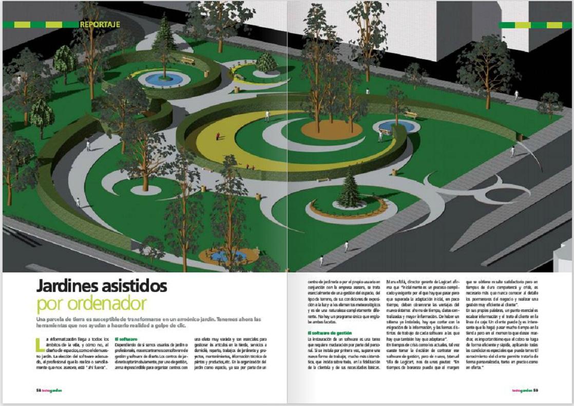 Tujard nonline vuelve a aparecer en la prensa el jard n for Diseno de parques y jardines