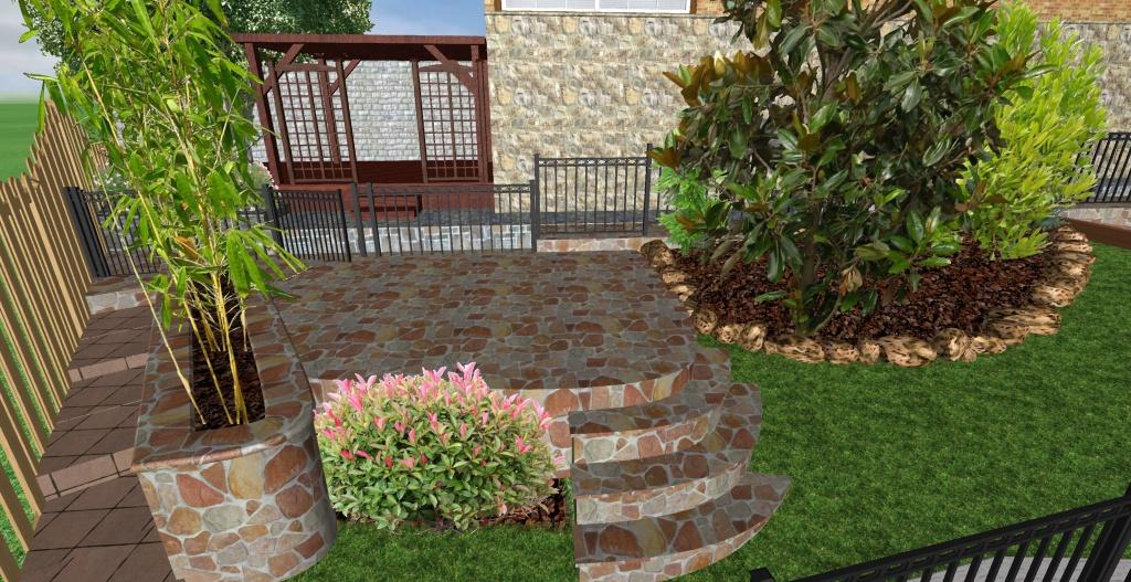 Terraza jardinera el jard n de marta tujard nonline for Jardines pequenos con ladrillos