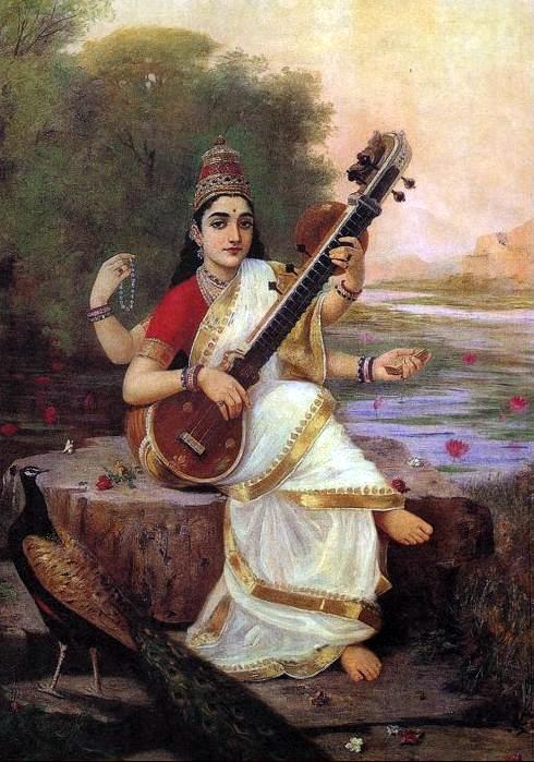 Diosa Saraswati