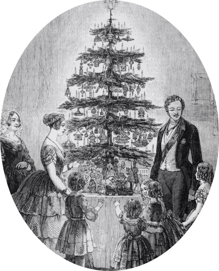 arbol de navidad, navidad windsor