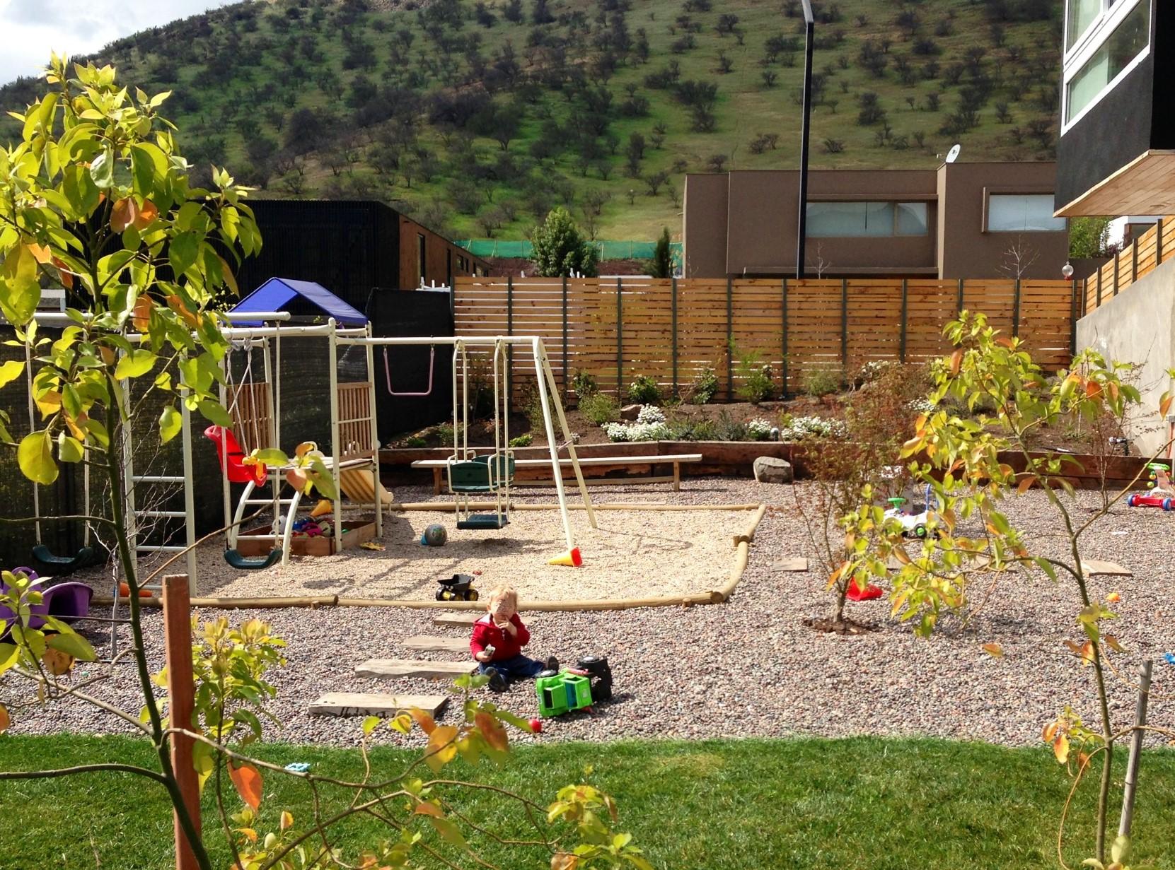 Proyecto de jardiner a y paisajismo en santiago de chile for Proyecto de jardineria